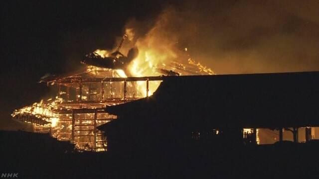 【日本政府】全焼の首里城 復元に向け補正予算案を検討