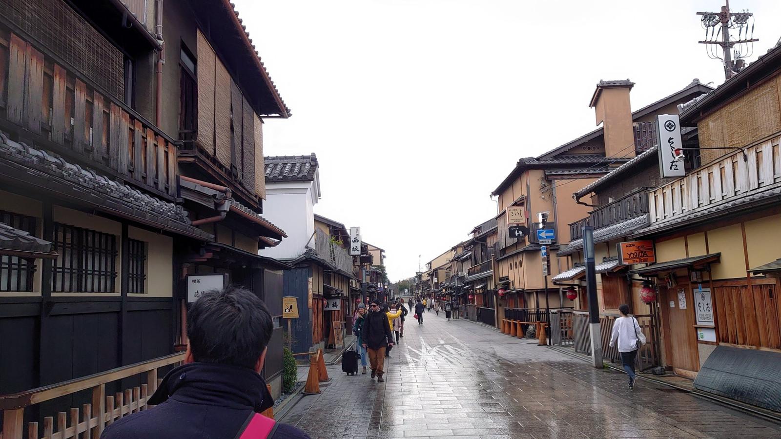 【画像】京都、新型肺炎でガチで終わる