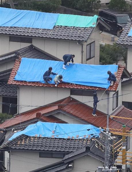 【千葉市】熊谷市長、ツイートで訴え「被災屋根のブルーシート養生をしていただけるボランティアの方を募集します」