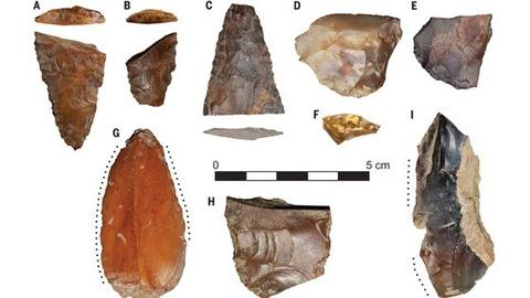【人類学】なんと新発見の石器から「最初のアメリカ人は日本から来たかもしれない」説が急浮上