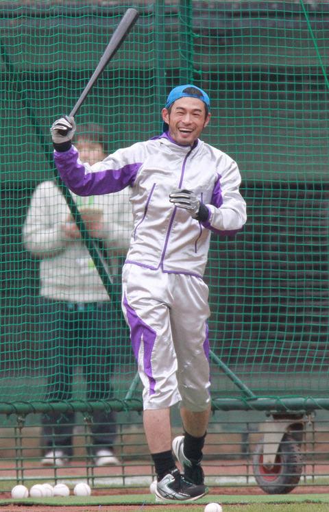 【野球】イチロー氏、今オフ草野球デビューへ!エース兼監督兼オーナー、神戸で伝説第2章