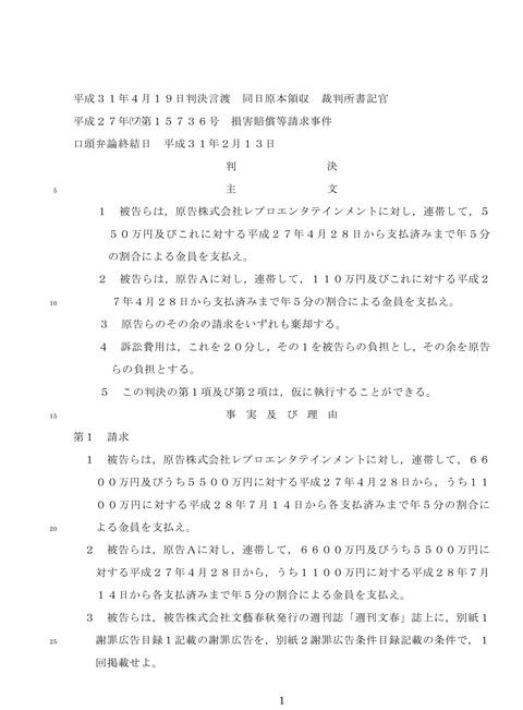 【文春告発→敗訴】能年玲奈 のん転落【判決文Web公開中 】のんちゃんの今は?