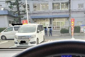 【いじめ動画】松江第三中学校、警察が取り囲む。マスコミやYouTuber、右翼街宣車などが集結し一帯はパニック状態