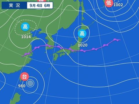 【🌀】台風13号、たった24時間で955hPaまで勢力増強。日本、完全消滅カウントダウン──