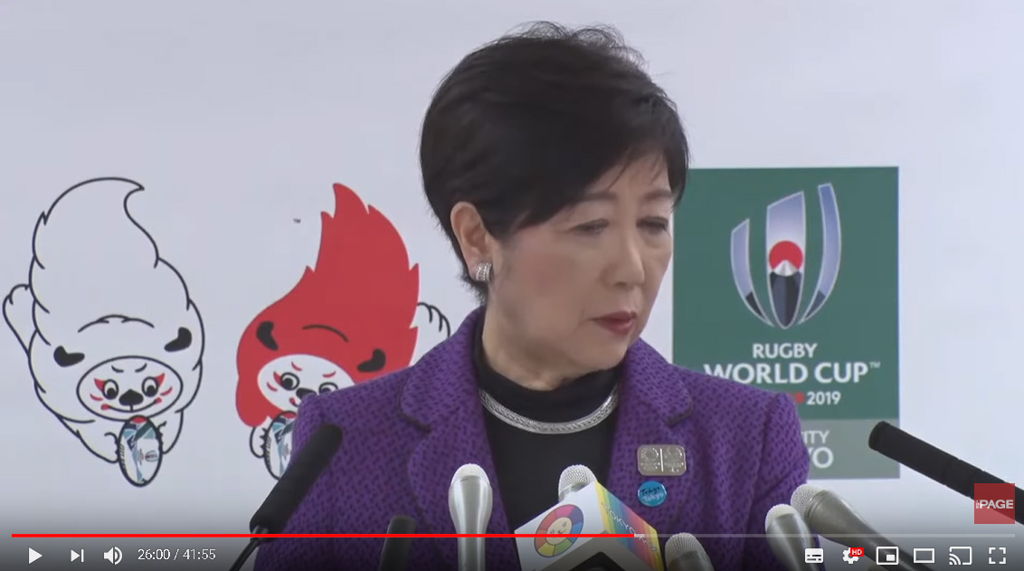 【東京五輪】小池知事「マラソンを見るためにマンションを買った方もいる」