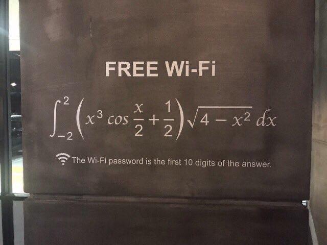 【あなたは解けますか?】ロンドンのホテルのWifiのパスワード、アホには解けないようになってる