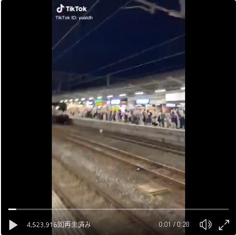 【ツイッター】「めっちゃ天皇なんだけど!」 お召列車の中から手を振る陛下を見て大興奮するJKの動画が話題 28万いいね