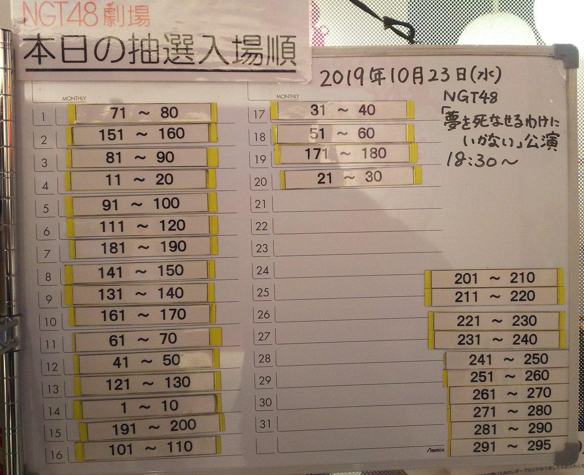 【悲報】NGT48さん、久しぶりの正規公演が定員割れになってしまう ガラガラ