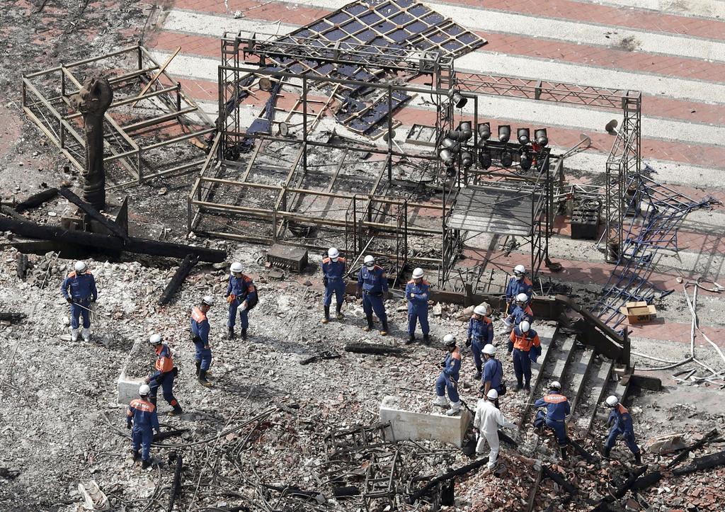 【首里城焼失】火元の正殿1階の分電盤、電気がショートした痕が残っていたことが判明